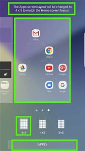 Use Galaxy Note 7 Screen Grid To Customize App Icon Size