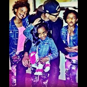 August Alsina his three nieces their father died/his ...