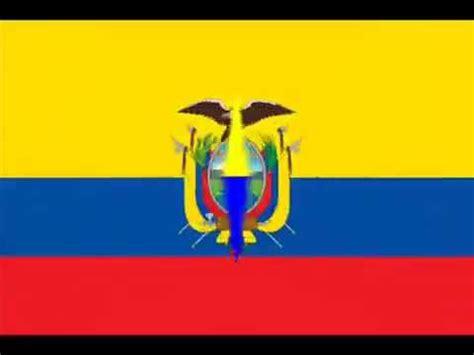 breve historia de la bandera ecuador