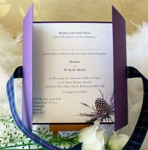 luxury scottish wedding invitations caledonia wedding With luxury wedding invitations scotland