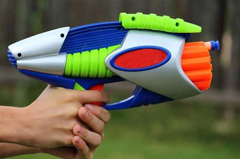 nerfed guns