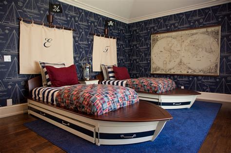 Nautical Bedroom Interior And Decorating Themes