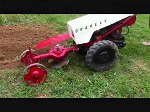 Video  1 Gravely Tractor Demonstration Series 1962 Gravely