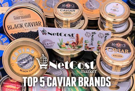 Top 5 Caviar Brands For Valentine's  Netcost Market