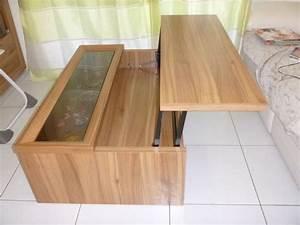 Table Basse Fly Occasion : table basse relevable occasion blog design d 39 int rieur ~ Teatrodelosmanantiales.com Idées de Décoration