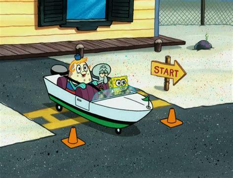 spongebuddy mania spongebob episode boating buddies