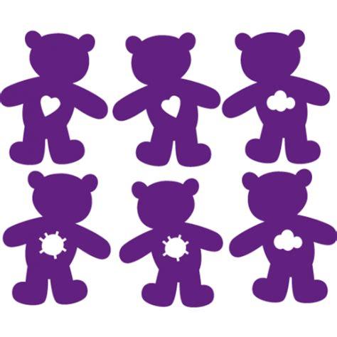 stickers nounours pour chambre bébé stickers oursons