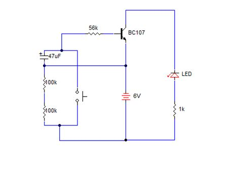 Simple Delay Timer For One Minute Mycircuits