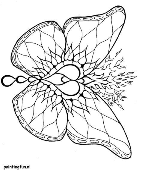 Volwassenen Kleurplaat Mandala Vlinder by Mandala Vlinder Butterfly Fantasie Tattoos Pencil