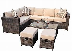 Outdoor Möbel Rattan : ecksofas und andere sofas couches von yakoe online kaufen bei m bel garten ~ Markanthonyermac.com Haus und Dekorationen