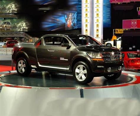 dodge rampage release date specs interior pictures