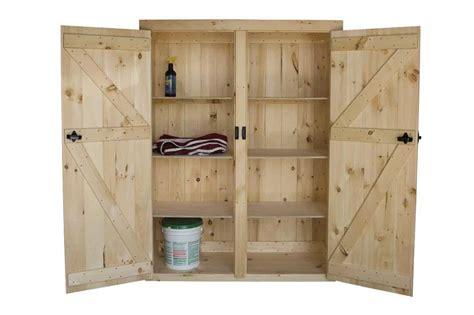 tall wood storage cabinets  doors