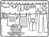 Coloring Washing Line Wasdraad Clothes Colouring Kleurplaat Kleurplaten Kleidung Kleding Malvorlage Clothesline Malvorlagen Zum Ausmalen Kiddicolour Fil Kleurprent Gratis 01k sketch template