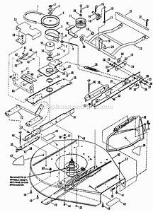 Snapper Lt125g38ab Parts List And Diagram
