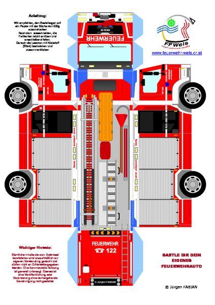 Bastelbogen papiermodelle gratis / f es b modellbau download kartonmodelle zum ausdrucken und zusammenbauen : Freiwillige Feuerwehr der Stadt Wels: Neuer Bastelbogen online!
