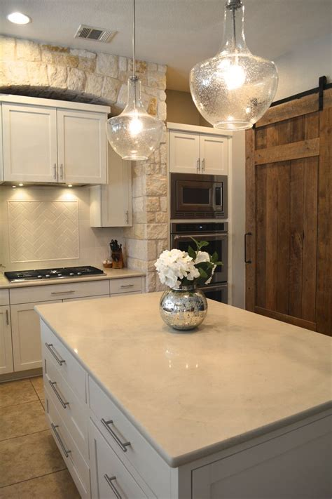 quartz for kitchen countertops we replaced the gold speckled granite with a