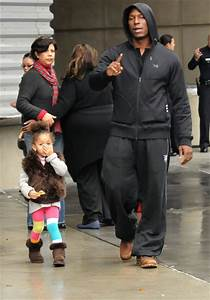 Tyrese Out with His Daughter - Zimbio