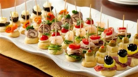 cheap canapes recipes appetizers finger food