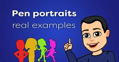 Pen Portraits Real Examples