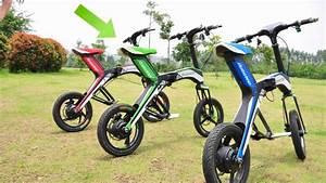 Mini Moto Electrique : pr sentation du mini scooter lectrique e bike youtube ~ Melissatoandfro.com Idées de Décoration