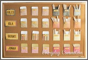 Allowance Chore Chart 25 Fun Diy Charts That Will Get Kids Exited About Doing