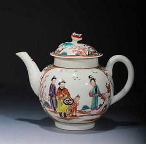 Antique worcester teapot richard gardner antiques