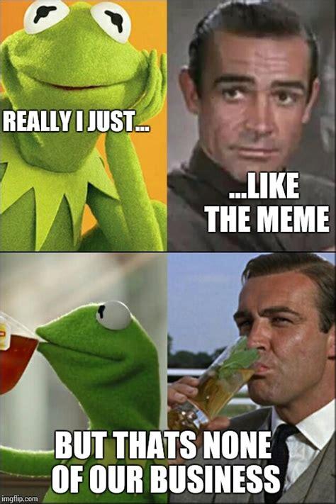 Sean Connery Memes - sean connery kermit imgflip