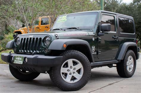 jeep wrangler rubicon  sale  select jeeps  stock