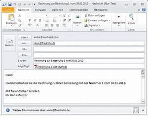 Rechnung Per Email Gültig : berichte per e mail versenden teil ii startseite ~ Themetempest.com Abrechnung