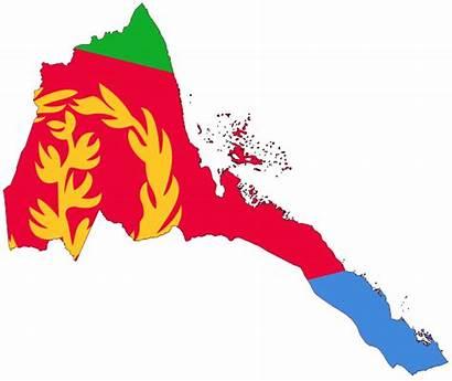 Flag Eritrea Graphics Map