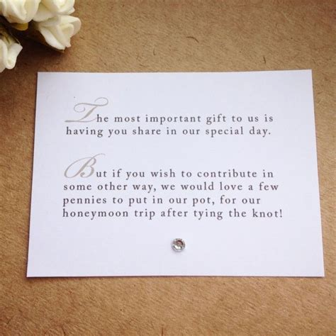 poem no xmas cards donation instead poem 5 x wedding poem cards for invitations money gift honeymoon gift ideas