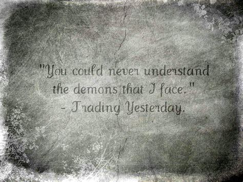 Quotes About Inner Demons Quotesgram