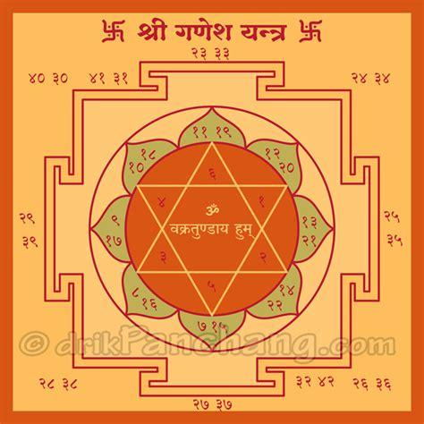 Yantra Mantra om vakratundaya yantra vakratundaya ganapati yantra