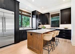 L, Shaped, Kitchen, With, Island, Design, Ideas