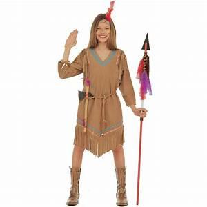 Indianer Kostüm Mädchen : klassisches indianer kost m f r m dchen ~ Frokenaadalensverden.com Haus und Dekorationen