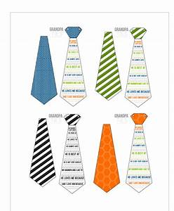 Grandpa Ties- A Father's Day Printable Card for Grandpa ...