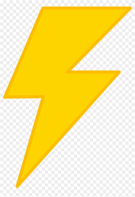 Lightning Bolt Clip Background Clipart Lightning Transparent Background
