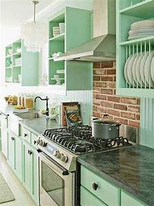 retro kitchen design ideas With kitchen colors with white cabinets with graffiti wall art sale