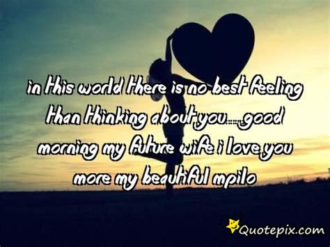 good morning my future wife quotes