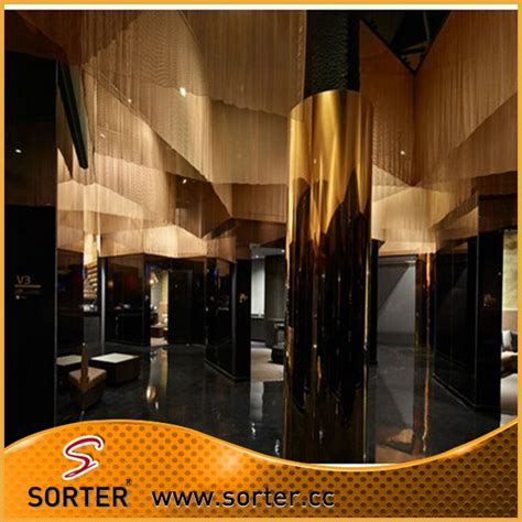 decorative metal bead curtain for 100 images spa