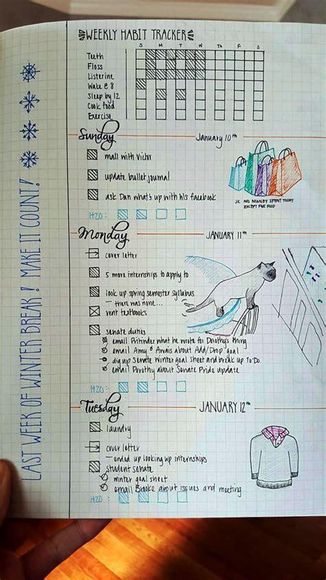 bullet journal habit trackers journal bullet journal