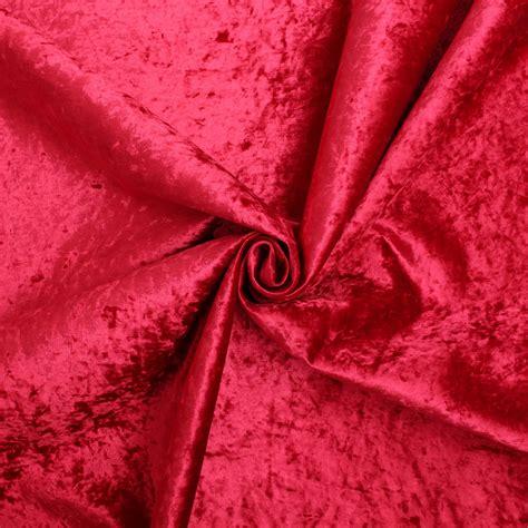 Crushed Velvet Upholstery Fabric by Retardant Luxury Soft Plush Crushed Velvet Glitz