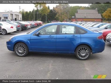 2011 Ford Focus Ses by Blue Metallic 2011 Ford Focus Ses Sedan Charcoal