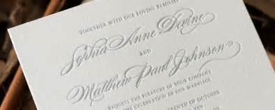 Font For Wedding Invitations by Choosing The Perfect Wedding Invitation Font Selecting The Right Fonts For