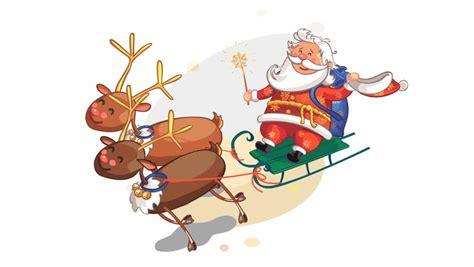 Christmas Animation Loop Stock