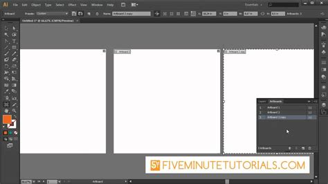 adobe illustrator cs art board tool youtube
