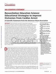 Aha Scientific Statement Cardiopulmonary Resuscitation