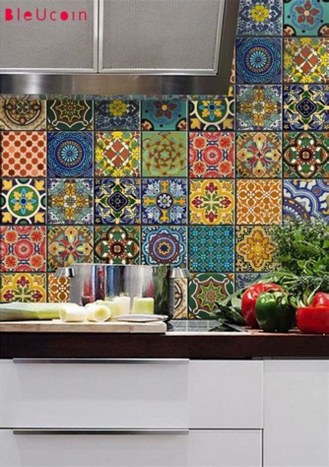 colorful kitchen backsplash colorful kitchen backsplashes comfydwelling 2338