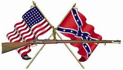 War Civil Clipart Flags Clip