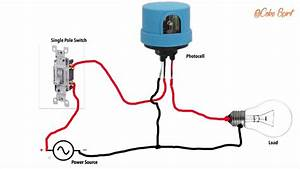 How To Wire A Photocell In A Circuit